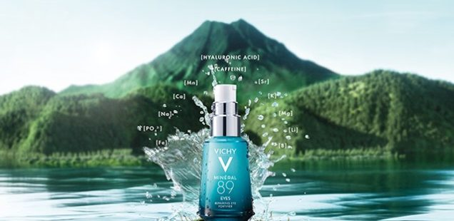 Novinka od Vichy Hyaluron-Booster Mineral 89 očný dostupný už aj u nás. Pomáha hydratovať, odstraňovať jemné vrásky vzniknuté dyhydratáciou a redukovať vačky a tmavé kruhy pod očami